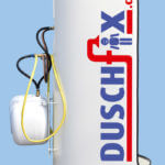 mobile-dusche-flexi-ansicht-von-links-mit-logo